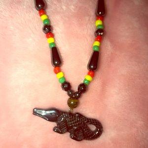 Jewelry - Crocodile Jamaica Necklace